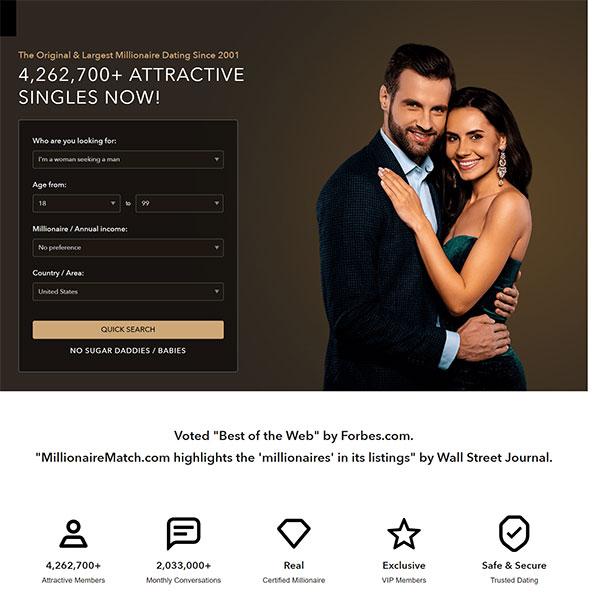 Millionaire dating